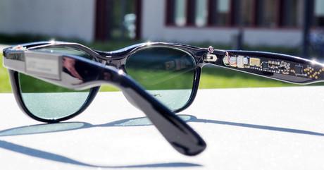 Solar brille erzeugt sonnenstrom