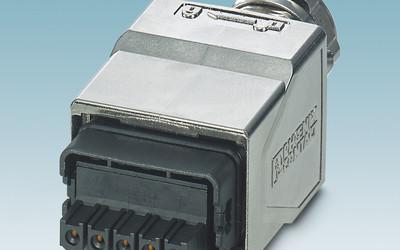 Phoenix Contact Advance series power connectors for Profinet applications