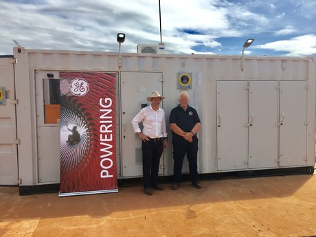 Ge hybrid power unit nt chief minister and klaus helms gumatj corp 2