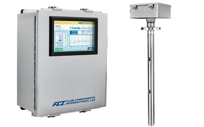 Fluid Components International MT100 Series multipoint thermal mass flow meters
