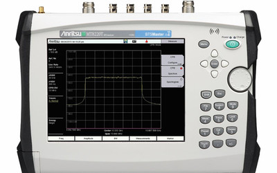 Anritsu CPRI & OBSAI RF Analysis Capability for Handheld Analysers