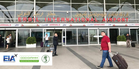 Damm wins public safety project in erbil international airport in iraq