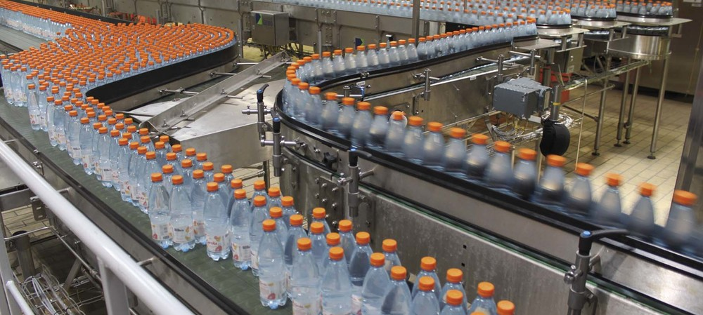 Line upgrade increases bottled water output by 3000 bottles/h