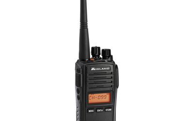 Midland G18 5W UHF-CB & LMR Hybrid Portable Radio