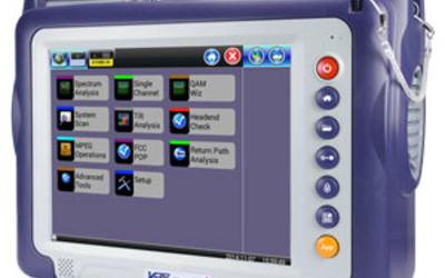 VeEX AT2500-3G HDTV Next Generation advanced spectrum analyser
