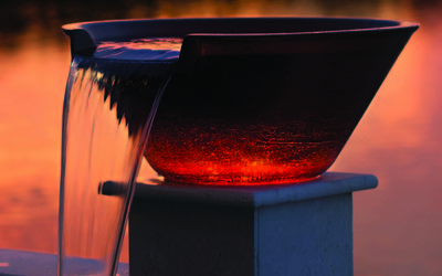Pentair MagicBowl Water Effects water feature