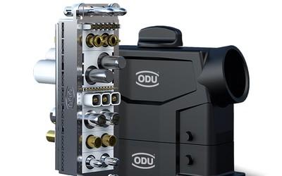 ODU ODU-MAC Blue-Line modular connector with plastic housing