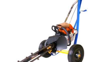 Terratrencher micro trenching tool