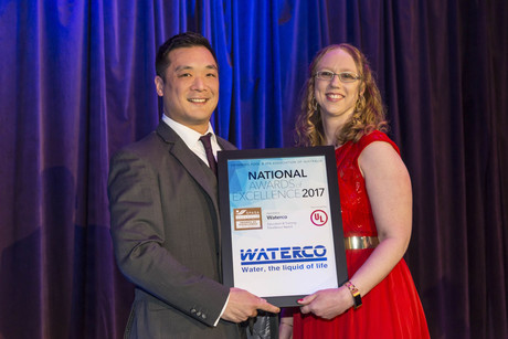 Bryan goh waterco spasa excellence awards