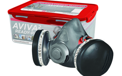 Scott Safety AVIVA half-mask respirator