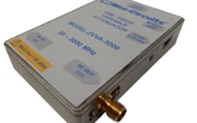 Mini-Circuits ZVVA-3000 continuously variable attenuator