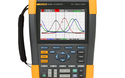 Fluke 190 Series II ScopeMeter portable oscilloscope