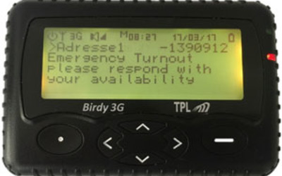 Birdy 3G two-way POCSAG/Cellular pager