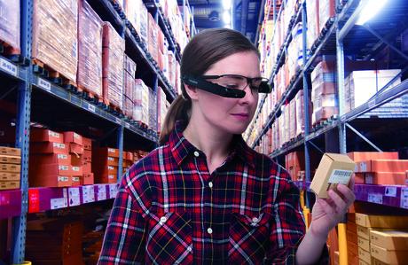 Vuzix m300 smart glasses warehouse logistics