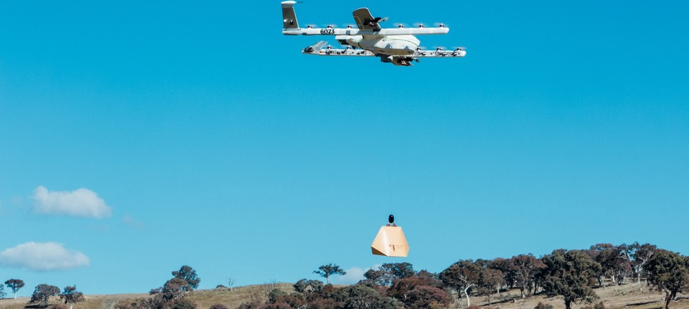 Project Wing drones deliver burritos in Australia