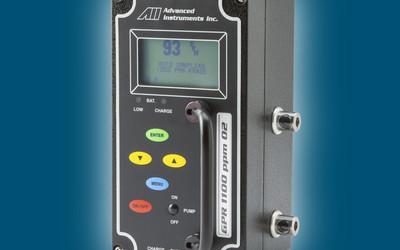 Analytical Industries GPR-1100 portable oxygen analyser