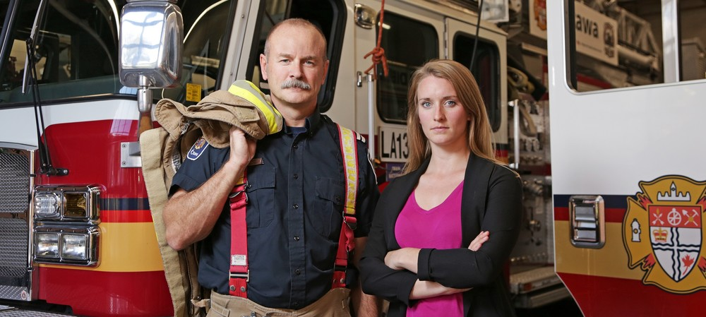 Firefighters battle not just flames, but also exposure to carcinogens