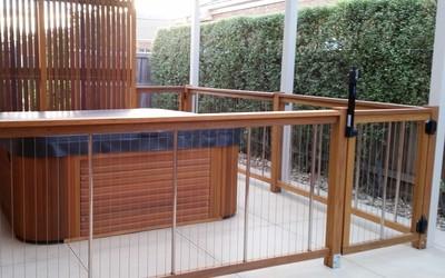 Sentrel pool fencing