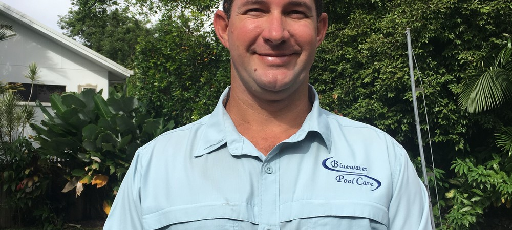 Pool of knowledge: Andrew Patterson, Bluewater Pool Care