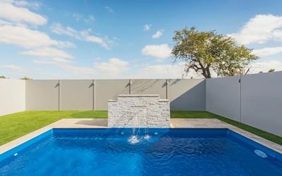 Modular Wall Systems aluminium fence postings