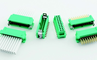 Harwin G125 series Gecko 1.25 mm connectors