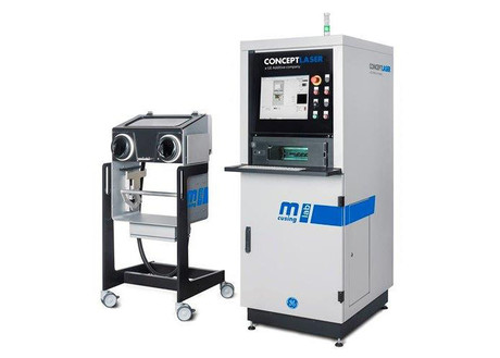 The concept laser mlab cusing 200r machine by ge