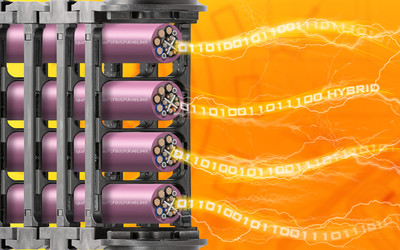 igus CFBUS.PUR.H01 series hybrid cables for energy chains