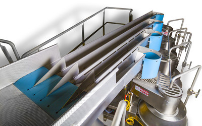 Heat and Control FastLane slicer infeed conveyor