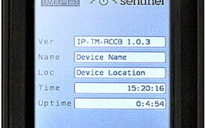 MFB Sentinel IP-addressable, rack-mountable power boards