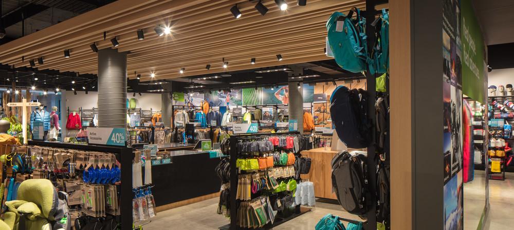 Outdoor goods retailer gets lighting upgrade