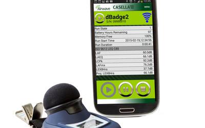 Casella dBadge 2 noise dosimeter