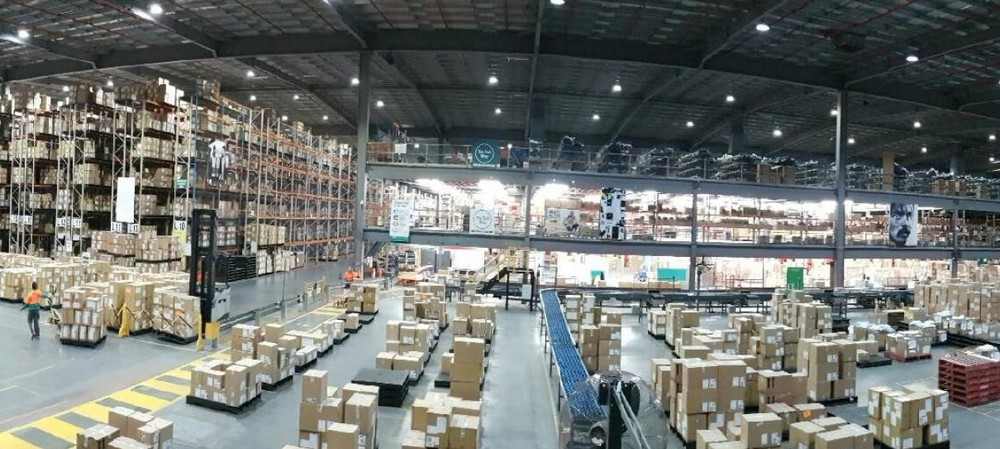 Award-winning warehouse reduces energy use by over 50%