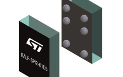STMicroelectronics BALF-SPI2-01D3 single-chip balun for low-power radio