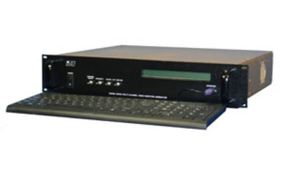 ITS America Model 6055C-nxGHD multichannel HD-SDI video data encoder