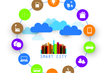 Smart cities with water and energy efficiencies