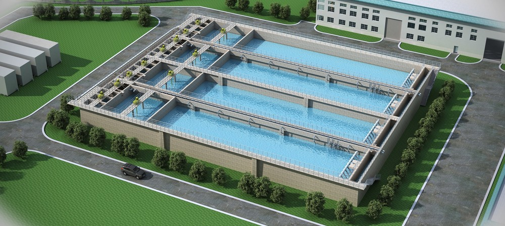 3D technology reduces wastewater treatment plant design costs by 30%