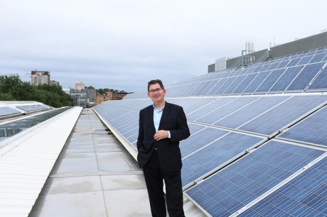 Unsw president and vice chancellor professor ian jacobs solar ppa announcement unsw supplied 1
