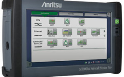 Anritsu Transport Test for 1G, 10G & 100G Networks