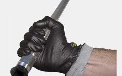 Megaman nitrile industrial glove