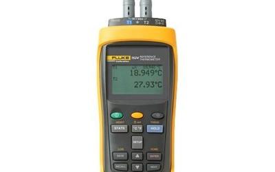 Fluke 1524 NATA precision handheld thermometer