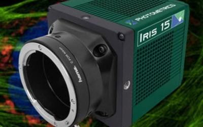 Photometrics Iris 15 sCMOS camera for light sheet microscopy