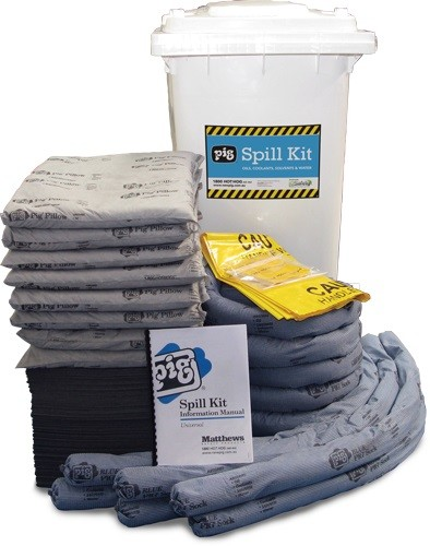 Do spill kits expire iqvision sep17