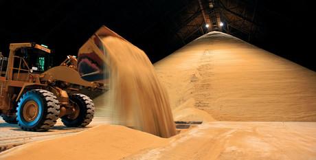 Sugar bulk storage