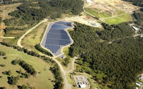 Newcastle solar farm courtesy ncc