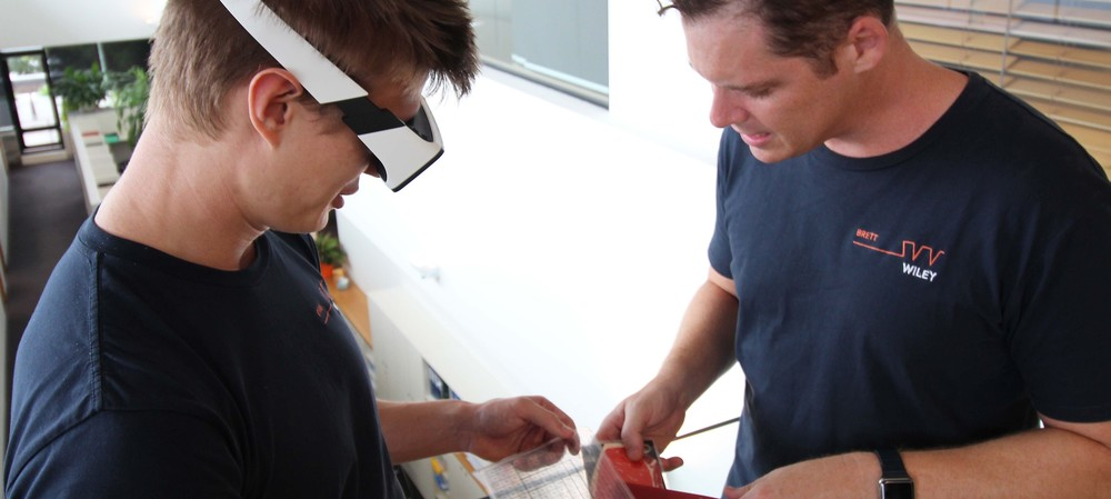 Using augmented reality to improve meat grading