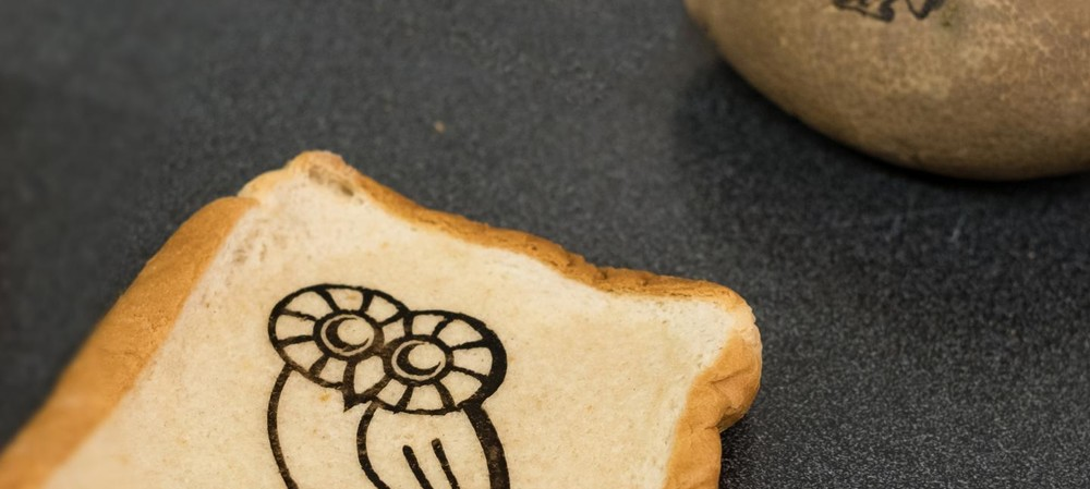 Graphene on toast: edible electronics are not far away
