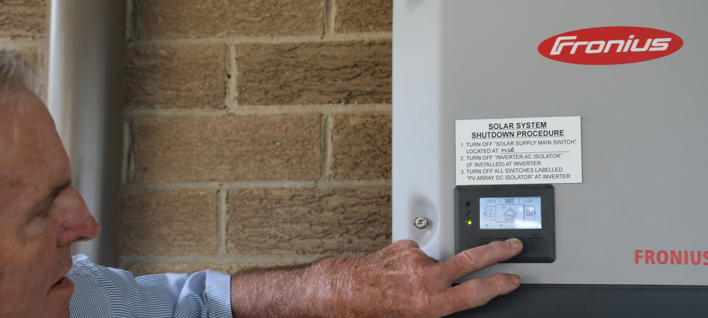 Solar power successfully shared in mini grid trial