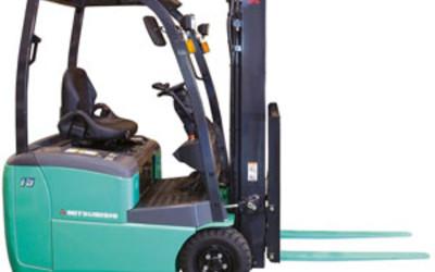 Mitsubishi FB-TCB series 3-wheel electric forklift trucks