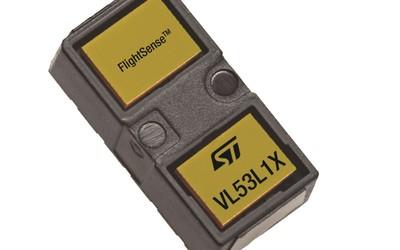STMicroelectronics FlightSense VL53L1X time-of-flight sensor