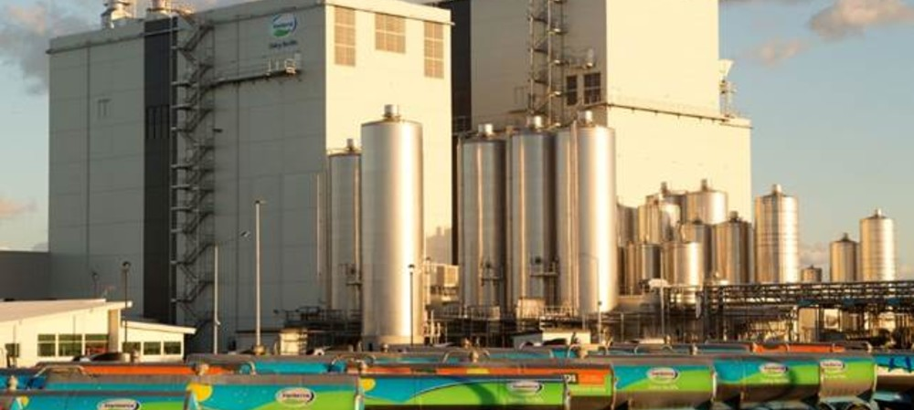 Fonterra manufacturing site to reduce water use by 70%